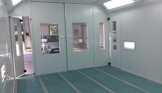 Cabine de peinture à accès laboratoire - Devis sur Techni-Contact.com - 2