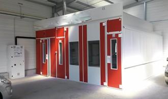 Cabine de peinture à accès laboratoire - Devis sur Techni-Contact.com - 4