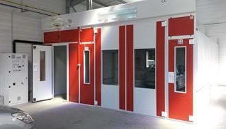 Cabine de peinture à accès laboratoire - Devis sur Techni-Contact.com - 5