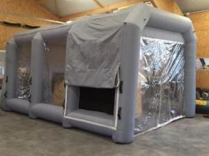 Cabine de peinture gonflable standard - Devis sur Techni-Contact.com - 2