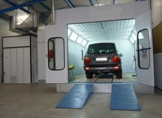 Cabine de peinture carrosserie auto - Devis sur Techni-Contact.com - 4