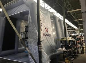 Cabine de peinture gonflable poids lourd et bus - Devis sur Techni-Contact.com - 3