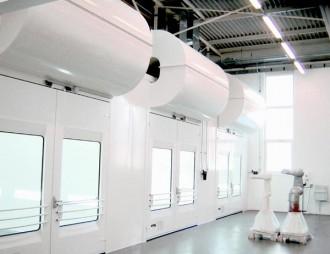 Cabine de peinture industrielle - Devis sur Techni-Contact.com - 2