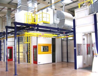 Cabine de peinture industrielle - Devis sur Techni-Contact.com - 5