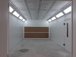 Cabine de peinture ouverte - Devis sur Techni-Contact.com - 1