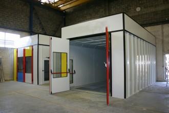Cabine de peinture pour véhicule léger - Devis sur Techni-Contact.com - 2