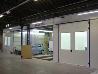 Cabine de peinture pour véhicule léger - Devis sur Techni-Contact.com - 7