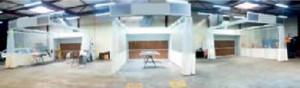 Mur aspirant aire de préparation peinture - Devis sur Techni-Contact.com - 1