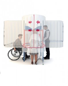 Cabine de vote homologuée - Devis sur Techni-Contact.com - 1