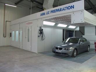 Cabine peinture automobile - Devis sur Techni-Contact.com - 2