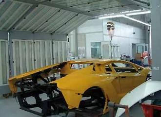Cabine peinture automobile VL - Devis sur Techni-Contact.com - 1