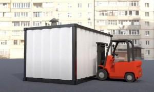 Cabine de peinture container - Devis sur Techni-Contact.com - 4