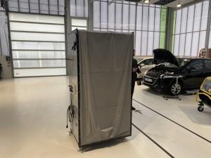 Cabine peinture mobile pliable - Devis sur Techni-Contact.com - 2