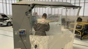 Cabine peinture mobile pliable - Devis sur Techni-Contact.com - 9