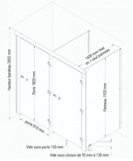 Cabines collectives vestiaires - Devis sur Techni-Contact.com - 6