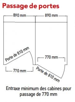 Cabines collectives vestiaires - Devis sur Techni-Contact.com - 7