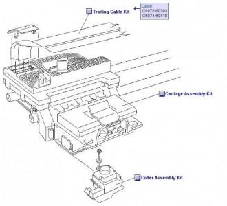 Câble en nappe pour HP Designjet 500 - Devis sur Techni-Contact.com - 3