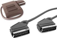 Cable peritel m/m croise 3m - Devis sur Techni-Contact.com - 1