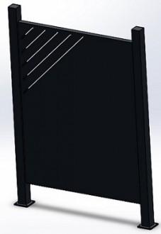 Cache conteneur déchet - Devis sur Techni-Contact.com - 1