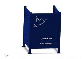 Cache conteneur déchet - Devis sur Techni-Contact.com - 3