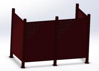 Cache conteneur déchet - Devis sur Techni-Contact.com - 4