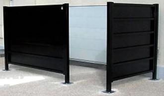 Cache conteneur sans toit - Devis sur Techni-Contact.com - 2