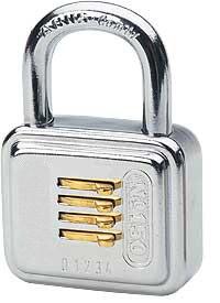Cadenas à combinaison pour porte boîtier en acier - Devis sur Techni-Contact.com - 1