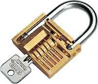 Cadenas sécurité multi usage diamètre anse 3.5 mm - Devis sur Techni-Contact.com - 1
