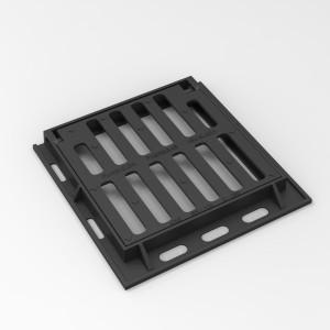 Grille cadre carré en fonte ductile  - Devis sur Techni-Contact.com - 1