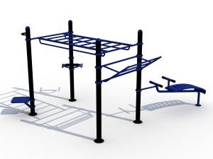 Cage musculation extérieure - Devis sur Techni-Contact.com - 1