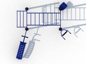 Cage musculation extérieure - Devis sur Techni-Contact.com - 2