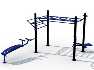 Cage musculation extérieure - Devis sur Techni-Contact.com - 3