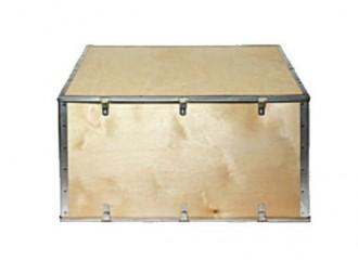 Caisse bois export avec ceinture pliante - Devis sur Techni-Contact.com - 1