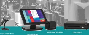 Caisse enregistreuse avec logiciel d'encaissement - Devis sur Techni-Contact.com - 1