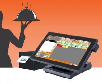 Caisse enregistreuse tactile 14 pouces restaurant - Devis sur Techni-Contact.com - 1