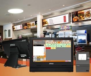 Caisse enregistreuse tactile Fast Food - Devis sur Techni-Contact.com - 1