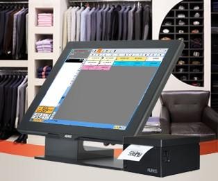 Caisse enregistreuse tactile magasin vêtement - Devis sur Techni-Contact.com - 1