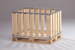 Caisse palette en bois 1200 x 800 mm - Devis sur Techni-Contact.com - 1