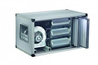 Caisson de ventilation à charbon actif motorisé - Devis sur Techni-Contact.com - 1