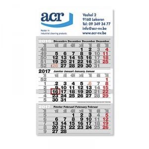 Calendrier trimestriel  - Devis sur Techni-Contact.com - 3