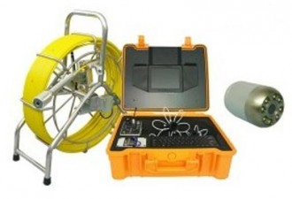 Caméra de canalisation à technologie fil d'eau - Devis sur Techni-Contact.com - 1