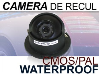 Caméra de recul couleur Orientable mirroir vision de nuit - Devis sur Techni-Contact.com - 1