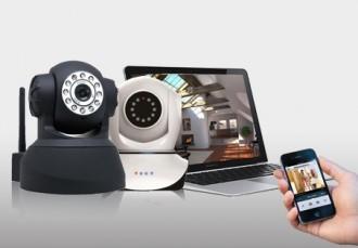 Caméra de surveillance ip wifi motorisé - Devis sur Techni-Contact.com - 1