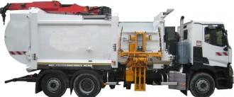 Camion benne à ordures ménagères - Devis sur Techni-Contact.com - 1