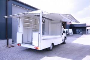Camion magasin pour fruits et légumes   - Devis sur Techni-Contact.com - 1