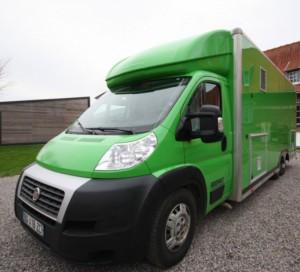 Camion pizza 6m de longueur   - Devis sur Techni-Contact.com - 1