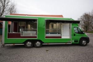 Camion pizza 6m de longueur   - Devis sur Techni-Contact.com - 2