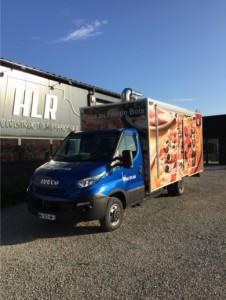 Camion Pizzeria Iveco daily avec four à sole rotative  - Devis sur Techni-Contact.com - 2
