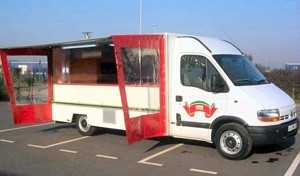 Camion De Marche VL Pizza