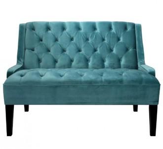 Canapé de style vintage à revêtement en velours - Devis sur Techni-Contact.com - 1